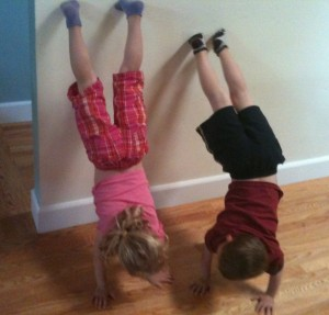 Handstand Chatting